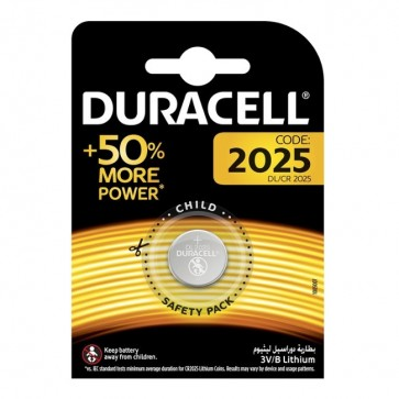 Baterija Duracell Electronic CR2025 / DL2025 1kom