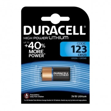 Baterija Duracell Ultra Photos CR123 1 kom
