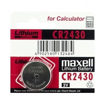 Baterija Maxell Cell Lithium CR2430 / DL2430 1kom