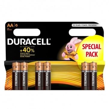 Baterija Duracell Basic AA/LR6 MN1500 6 kom