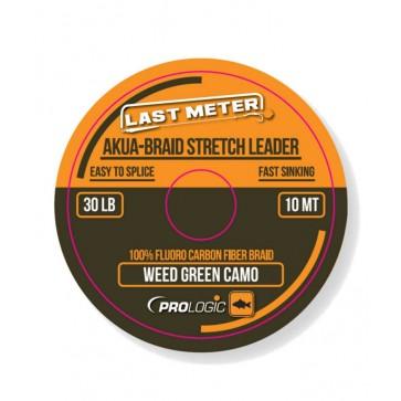Prologic Akua-Braid Leader Camo Green 10m / 30lb