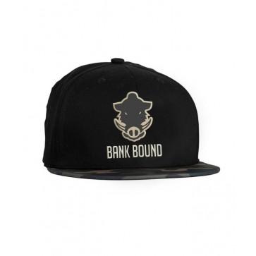 Prologic Bank Bound Flat Bill Cap Black/Camo
