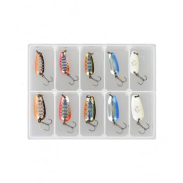 Savage Gear Nails Micro Spoon Kit1  #1c & #2c 10pcs