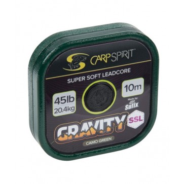 Carp Spirit Gravity Super Supple Lead Core 10m 45lb