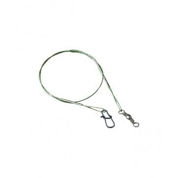 Jaxon Wire Leaders Green 8kg 25cm