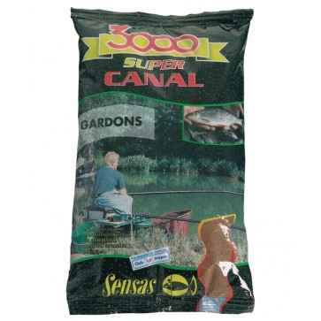 Sensas 3000 Super Canal Gardons 1kg