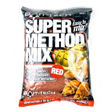 Bait Tech Method Mix Super Red 1kg