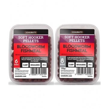 Sonubaits Soft Hooker Pellets Bloodworm Fishmeal