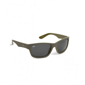 Fox Chunk Sunglasses Khaki/Grey Lense