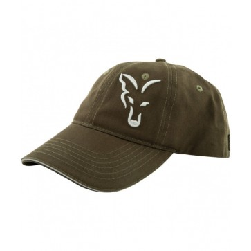 Fox Green Silver Baseball Cap