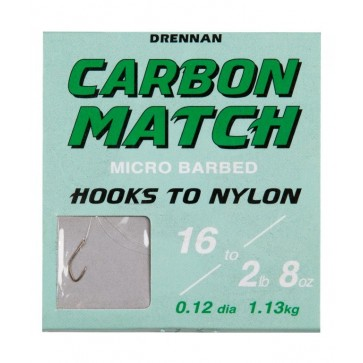 Drennan Carbon Match No. 16 - 0.12mm