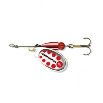 Cormoran Bullet Silver Red Dots