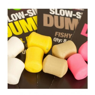 Korda Slow Sinking Dumbell Banoffee (12mm) - 8 pcs