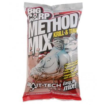 Bait Tech Method Mix Krill & Tuna 2kg