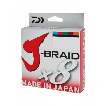 Daiwa J-Braid X8 300m Multicolor