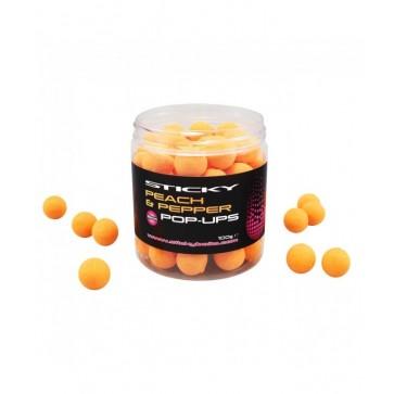 Sticky Baits Peach&Pepper Pop-Ups
