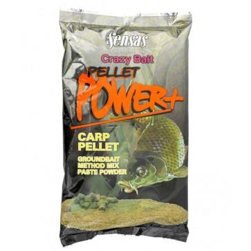 Sensas Crazy Bait Pellet Power Carp 1kg