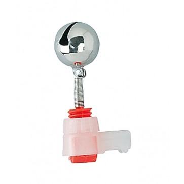 Jaxon Single Bell With Lightstick Slot 15mm