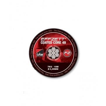 Effzett Coated Core49 Steeltrace Brown / 10m