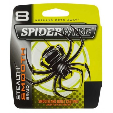 Spiderwire Stealth Smooth 8 Yellow 150m
