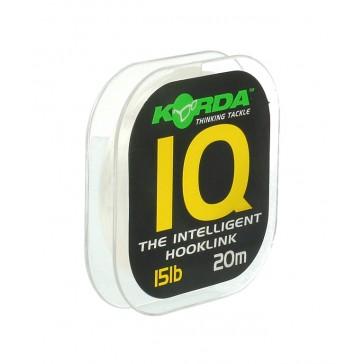 Korda IQ Fluorocarbon Hooklink 20M / 10lb