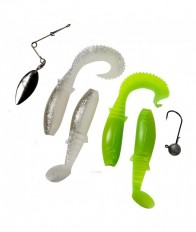 Savage Gear Cannibal Spinnerbait Kit 4+2