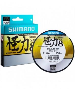 Shimano Kairiki 150m 0,07mm 4,5kg Steel Gray