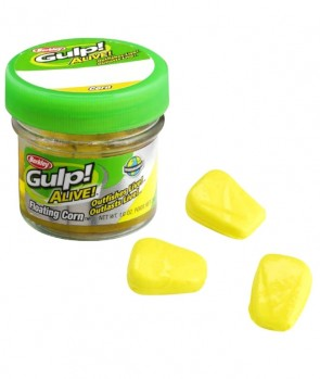 Berkley Gulp Alive Floating Corn Yellow