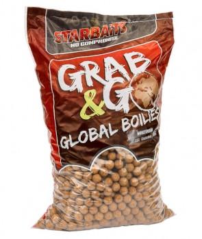 Starbaits Grab & Go Global Boilies Banana Cream 20mm 10kg