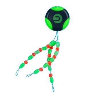 Specitec Silikonski Stoper S Perlom Fluo Green