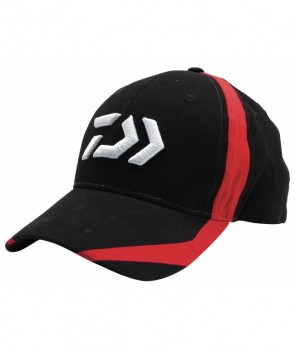 Daiwa Cap Black/Red Flash