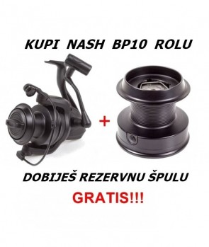 Nash BP 10 + Spare Spool Gratis