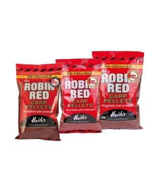 Dynamite Baits Robin Red Carp Pellets (Not Drilled) 900g