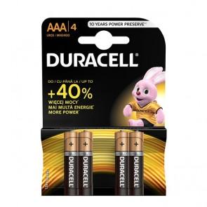 Baterija Duracell Basic AAA/LR03 MN2400 4 kom