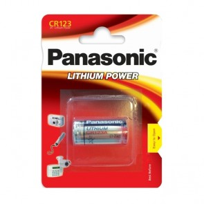 Baterija Panasonic Lithium Power CR123 1 kom