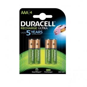 Baterija Punjiva Duracell Recharge AAA/LR03 DX2400 4 kom