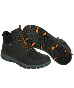 Fox Collection Black / Orange Mid Boot