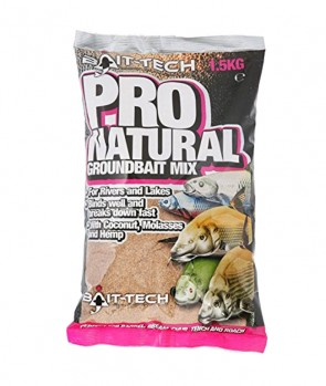 Bait Tech Pro Natural Groundbait 1.5Kg