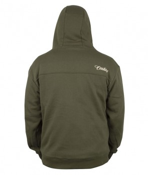 Century Premium Zip Hoody Green XL