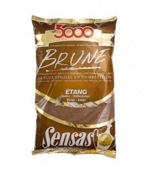 Sensas 3000 Feeder Brown 1kg