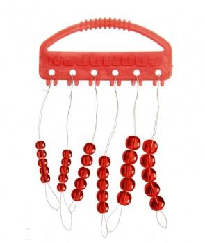 Cormoran Staklene Perle Crvene 30kom