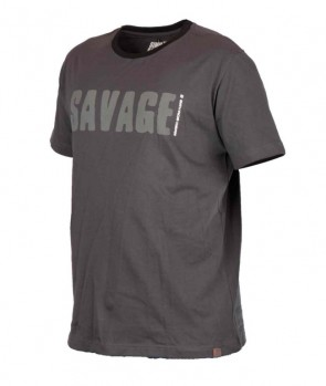 Savage Gear Simply Savage Tee Grey XL