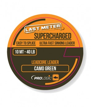 Prologic Supercharged Leadcore Leader Camo Green