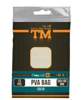 Prologic TM PVA Solid Bullet Bag W/Tape 15pcs 40X100mm