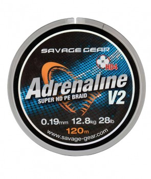 Savage Gear HD4 Adrenaline V2 Grey 120m