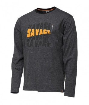 Savage Gear Simply Savage Logo-Tee Long Sleeve