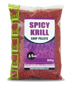 Rod Hutchinson Spicy Krill Carp Pellets 800g