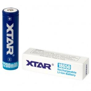Baterija Punjiva Xtar Li-ion 18650 / 2200 mAh / SA ZAŠTITOM