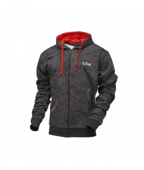 Dam Camovision Zip Hoodie L