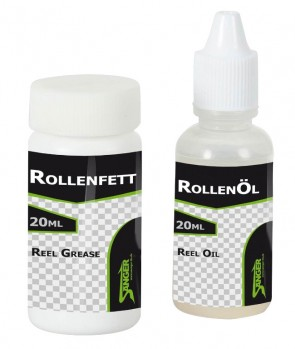 Saenger Reels Grease And Oil Set 2X20ml